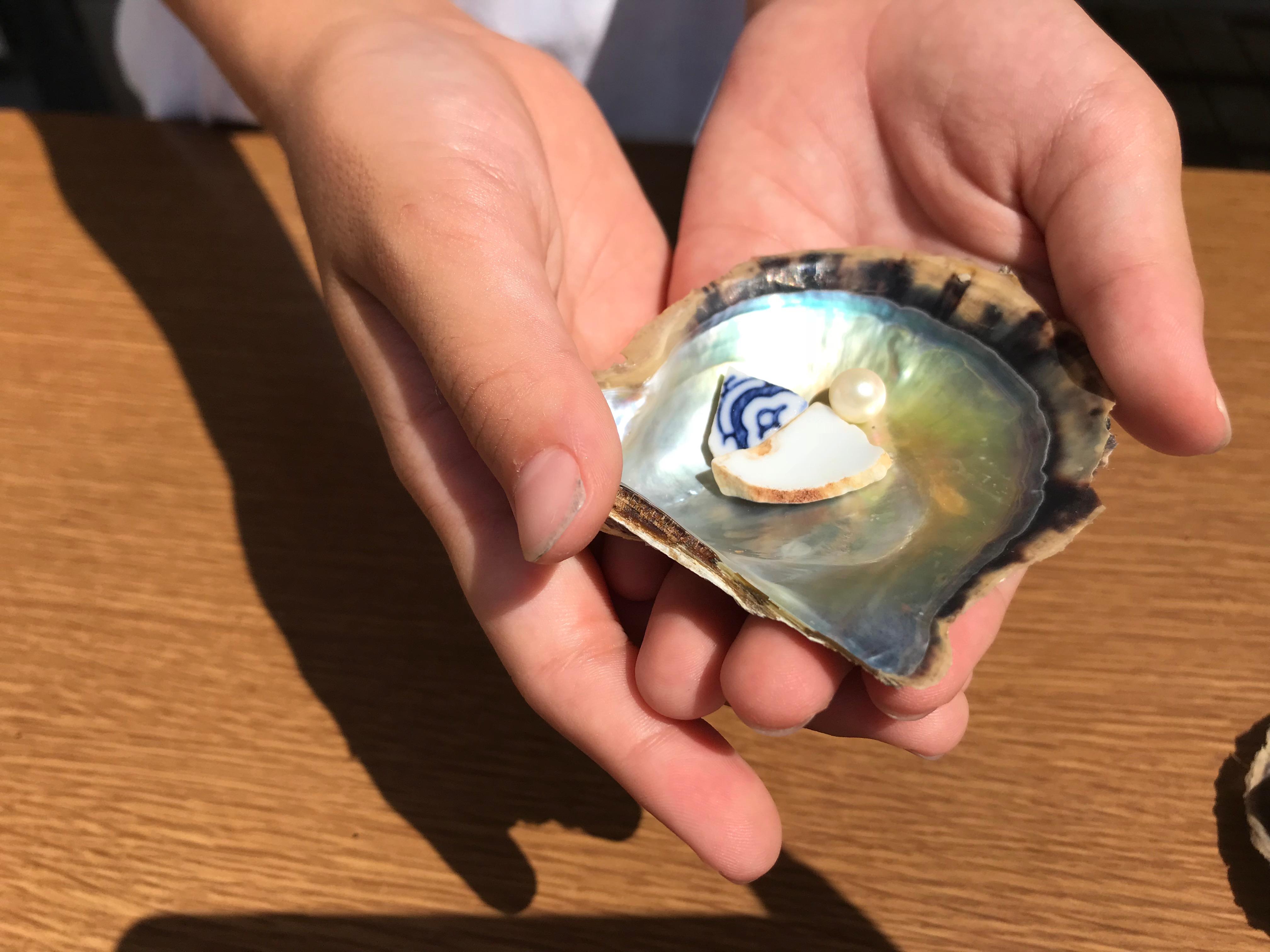 Report: acoya pearl workshop for kids at Matsubara, Omura city in Nagasaki/松原寺子屋塾 2018 夏